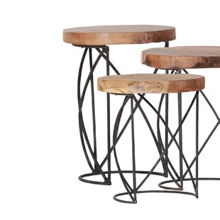 Dodd 3 Piece Nest Of Tables By Union Rustic
