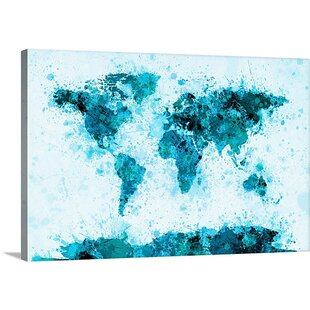 Large World Map Printable.Extra Large World Map Wall Art Wayfair