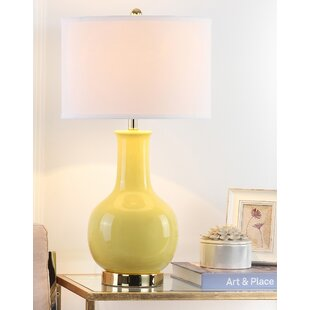 Genial Yellow Table Lamps Youu0027ll Love | Wayfair