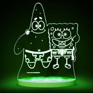 CompassCo Nickelodeon SpongeBob SquarePants and Patrick LED 3-Light Night Light