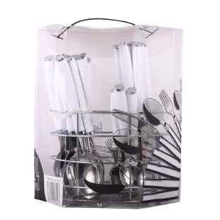 25 Piece Flatware Set, Service for 6