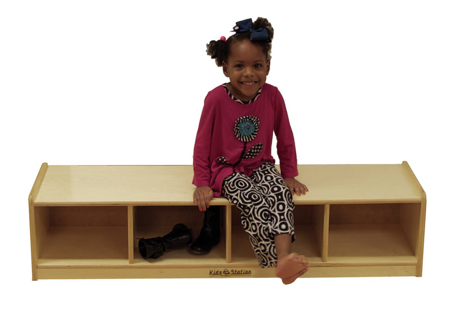 Kids Station Brown Reading Bench With Storage Wayfair