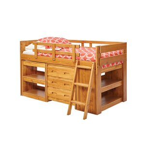 Mariann Twin Low Loft Bed by Harriet Bee