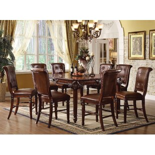 Wendel 9 Piece Extendable Dining Set