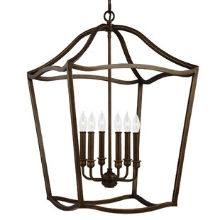 Best Nicoll 6-Light Foyer Pendant By Darby Home Co