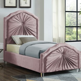 Wednesday Upholstered Platform Bed by House of Hampton