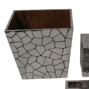 Oggetti Chameleon Metal Waste Basket