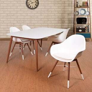 Mercury Row Colyer 5 Piece Dining Set with Cushion