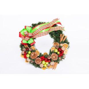 45cm Christmas Wreath By The Seasonal Aisle