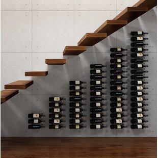 VintageView Wall Series 126 Wall Mounted Wine Bottle Rack