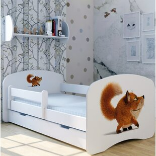 Fox Stolzi Bed With Mattress And Drawer By Zoomie Kids