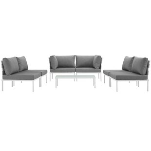 Darnell 7 Piece Sofa Set with Cushions