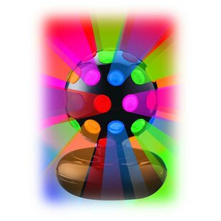 Zoomie Kids 6 Inch Rotating Disco Ball Light