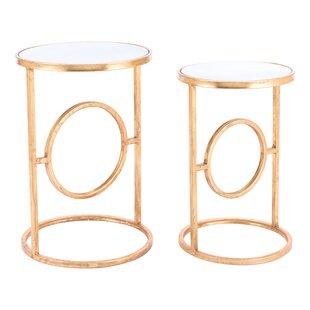 Holsinger 2 Piece Nesting Table Set by Mercer41