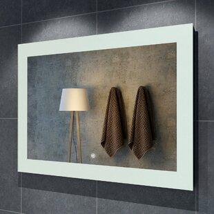 Read Reviews Seneca Illuminated LED Bathroom/Vanity Mirror ByOrren Ellis