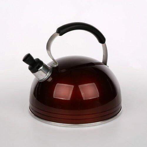 Marrone 3L Whistling Stovetop Kettle Symple Stuff Colour: