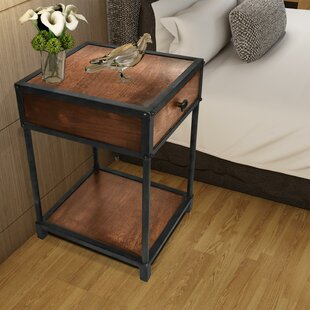 Meza End Table with Storage