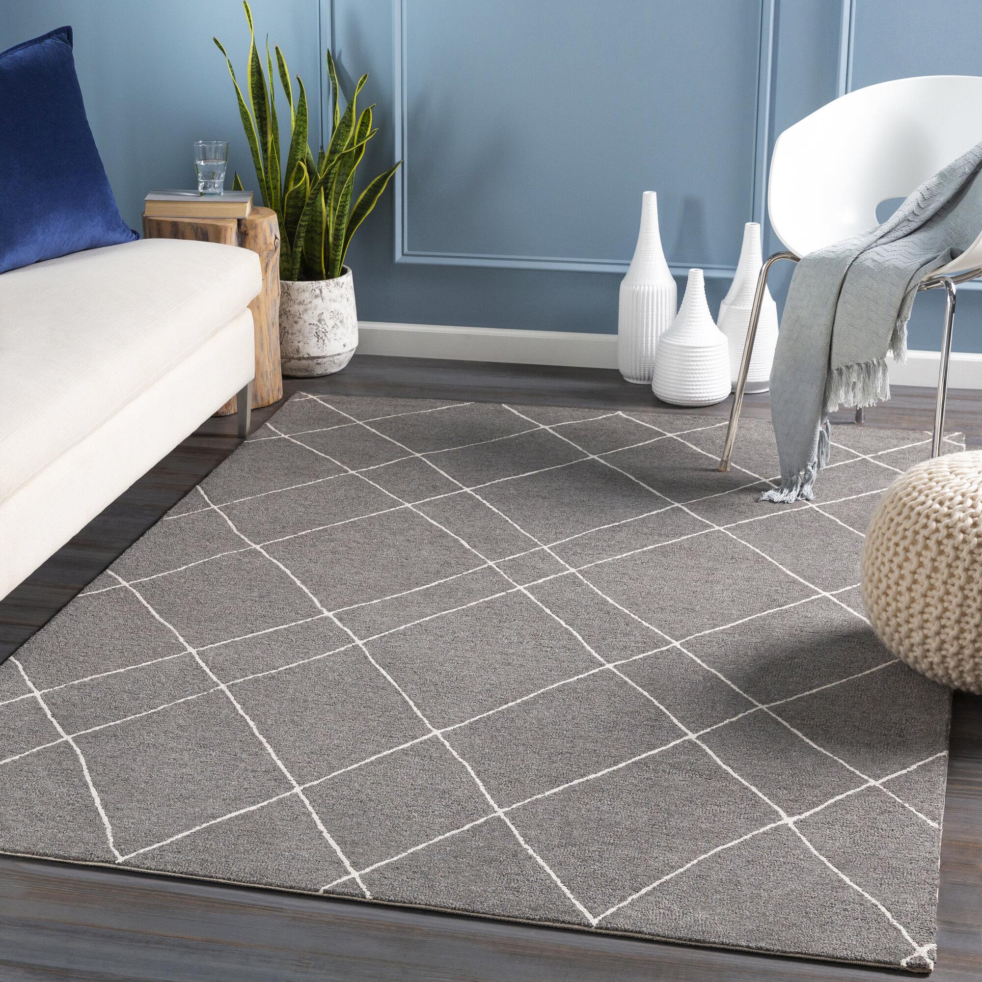 Modern Geometric Tufted Area Rugs Allmodern