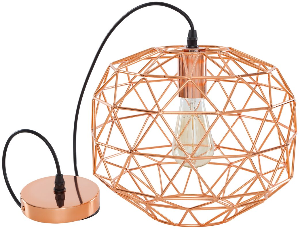 the geometric tribecca pendant large gold interior designer product