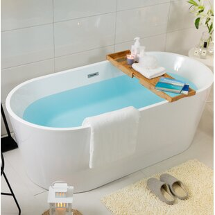 Best Luxury 36 x 67 Freestanding Soaking Bathtub By Luxier