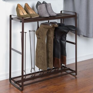 HomeCrate Space Saving Tilt-Out Boot Stor..