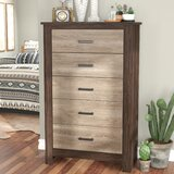 Henson 5 Drawer Chest by Union Rustic