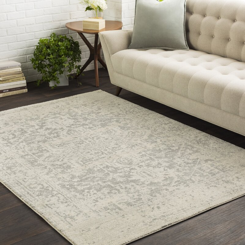 Superieur Hillsby Charcoal/Light Gray/Beige Area Rug