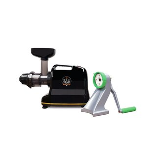 Tribest Solostar-3C Convertible Single Auger Juicer with Manual Conversion Kit