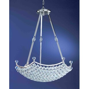 Solitaire 18-Light Crystal Chandelier by ..