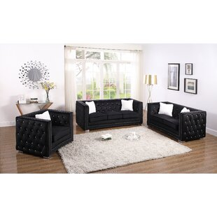 Best Reviews Lehr 3 Pieces Living Room Set by House of Hampton Reviews (2019) & Buyer's Guide