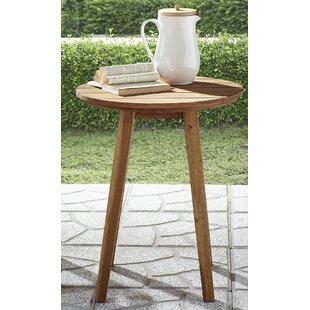 Scheffer Wooden Side Table By Brayden Studio