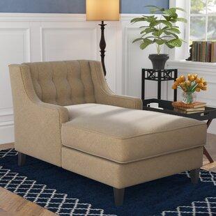 Herscher Chaise Lounge by Three Posts
