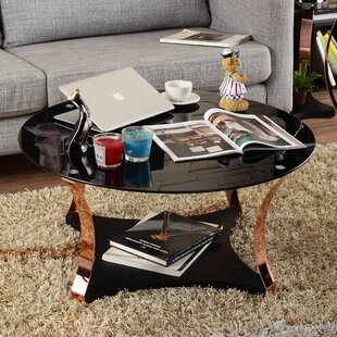Affordable Price Hodimont Contemporary Coffee Table by Mercer41
