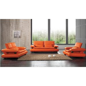 Noci Design 3 Piece Living Room Set