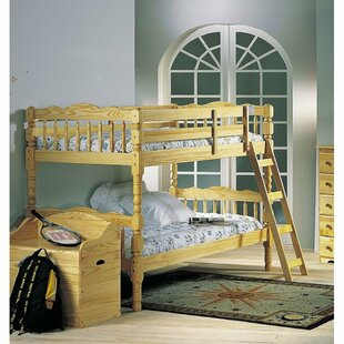 Comparison Schneider Wood Twin Bunk Bed by Harriet Bee Reviews (2019) & Buyer's Guide