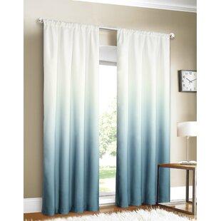 Favorite Blue Ombre Curtains | Wayfair XZ01