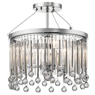 Mercer41 Malvern 3-Light Chandelier