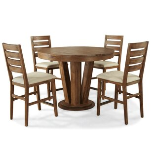 Ciera 5 Piece Dining Set by Union Rustic