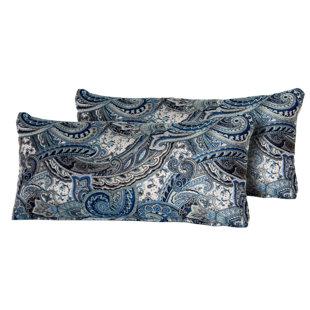 Potvin Paisley Rectangle Outdoor Lumbar Pillow (Set of 2)