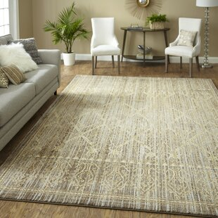 Shepardson Silver/Taupe Area Rug