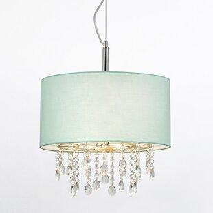Bixby 3-Lights Crystal Chandelier by House of Hampton