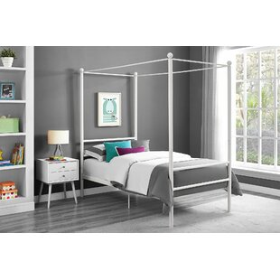 Gracie Oaks Maderia Canopy Bed