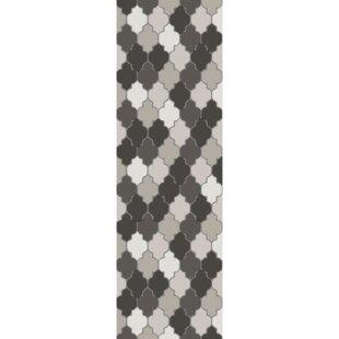 Elektra Hand-Tufted Light Gray/Moss Area Rug ByBrayden Studio