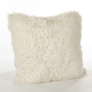 Loraine Faux Fur Throw Pillow