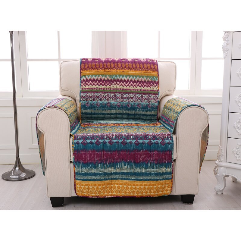 Greenland Home Fashions Southwest Quilted Box Cushion Slipcover