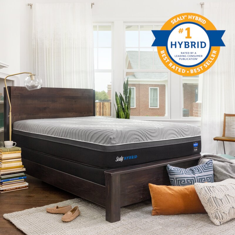 Sealy Hybrid Performance Kelburn Ii 13 Firm Mattress And 9 Box