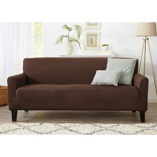 Dawson Box Cushion Sofa Slipcover by Home Fashion Designs