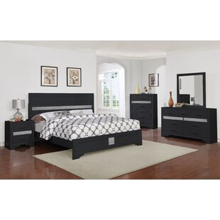 Geist Panel 5 Piece Bedroom Set