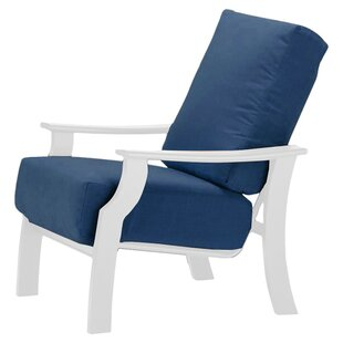 St. Catherine Indoor/Outdoor Arm Chair with Cushion by Telescope Casual