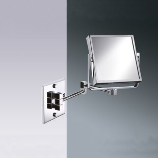 Windisch by Nameeks Wall Mounted Square Double Face Magnifying Mirror